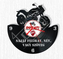 Ducati hanglemez óra