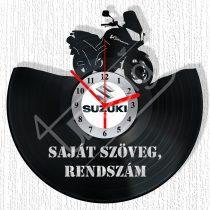 Suzuki V-strom hanglemez óra