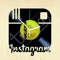Instagram hanglemez óra