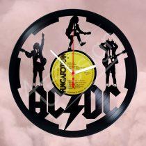 AC/DC hanglemez óra