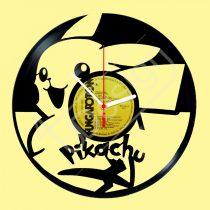 Pikatchu pokémon hanglemez óra
