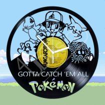 Pokémon hanglemez óra