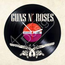 Guns and Roses hanglemez óra