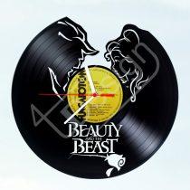 Szépség és szörnyeteg hanglemez óra