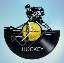 Jégkorong hanglemez óra