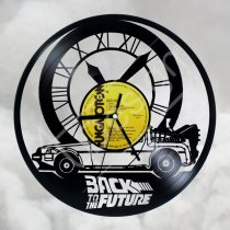 Vissza a jövőbe hanglemez óra