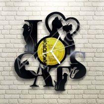 RK - Macskák hanglemez óra