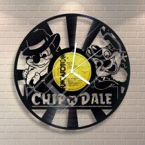 Chip & Dale hanglemez óra