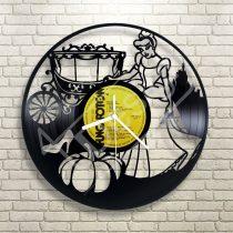 Hamupipőke hanglemez óra