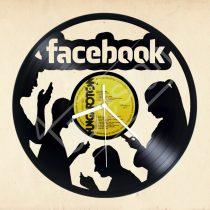 Facebook hanglemez óra