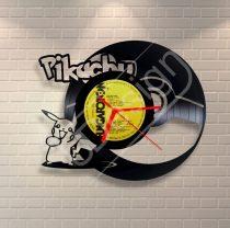 Pikachu pokémon hanglemez óra