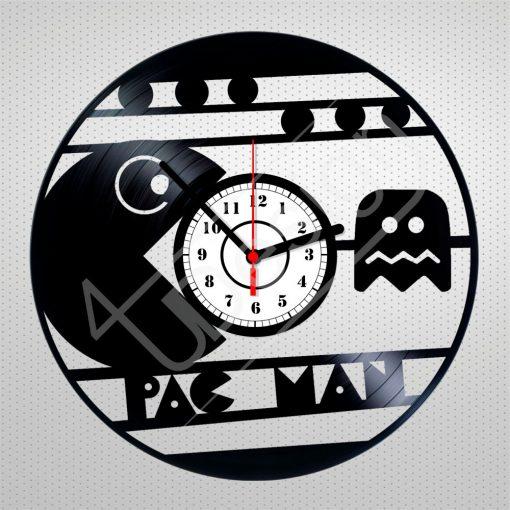 Pac Man hanglemez óra - bakelit óra