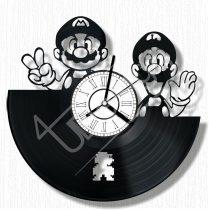 Super Mario hanglemez óra