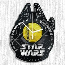 Star Wars Millenium Falcon hanglemez óra