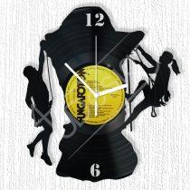 Sziklamászók hanglemez óra
