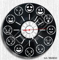 Emoji hanglemez óra