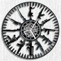 Fegyverek hanglemez óra