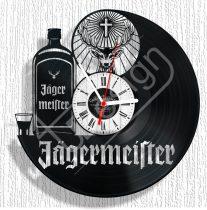 Jagermaister hanglemez óra