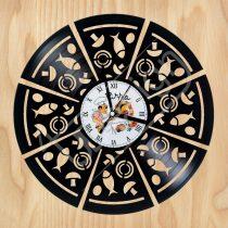 Pizza hanglemez óra