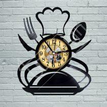 Szakács hanglemez óra