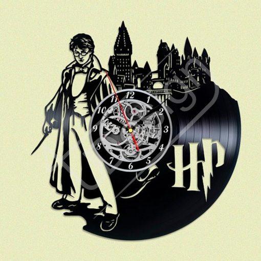 Harry Potter hanglemez óra - bakelit óra