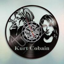 Kurt Cobain hanglemez óra