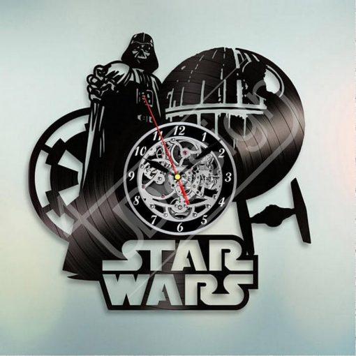 Star Wars Empire hanglemez óra - bakelit óra