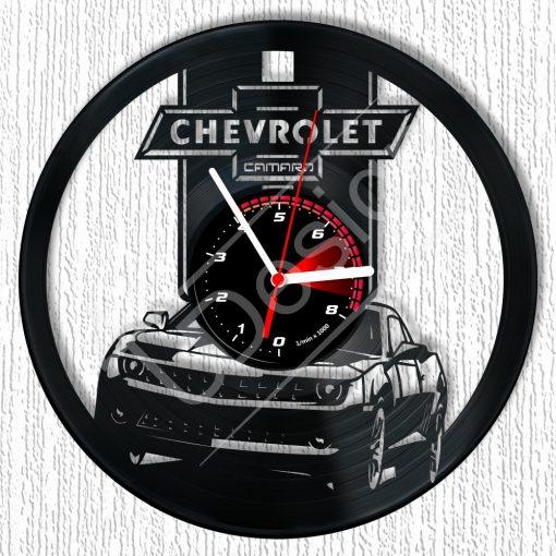 Chevrolet Camaro hanglemez óra - bakelit óra