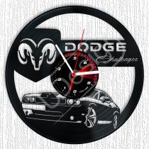 Dodge Challenger hanglemez óra