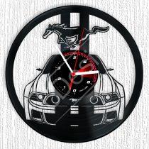 Ford Mustang hanglemez óra