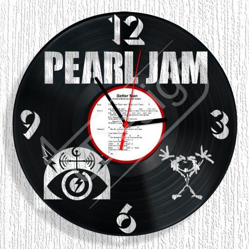 Pearl Jam hanglemez óra - bakelit óra