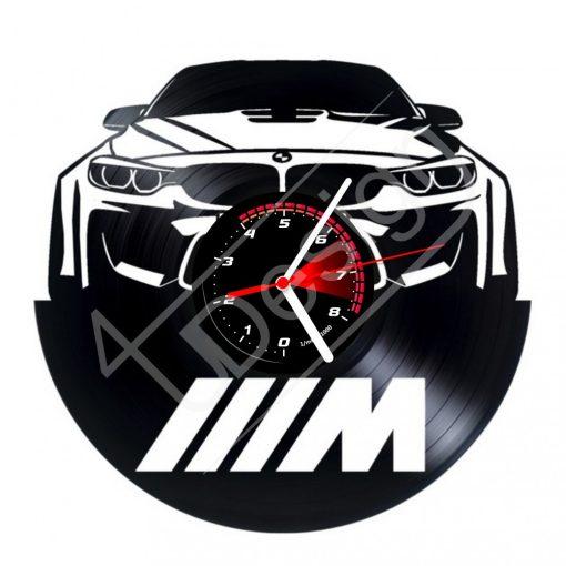 BMW M hanglemez óra - bakelit óra