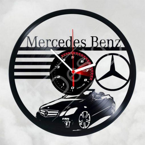 Mercedes Benz hanglemez óra - bakelit óra