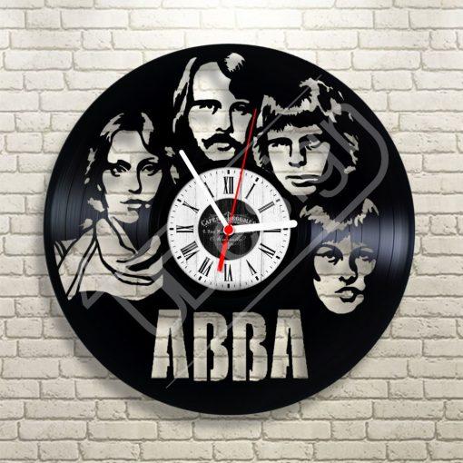 ABBA hanglemez óra - bakelit óra
