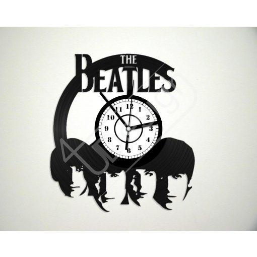 Beatles hanglemez óra - bakelit óra