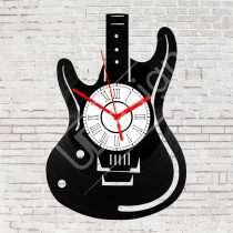 Gitár hanglemez óra