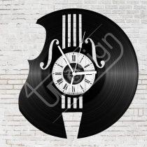 Hangszer hanglemez óra