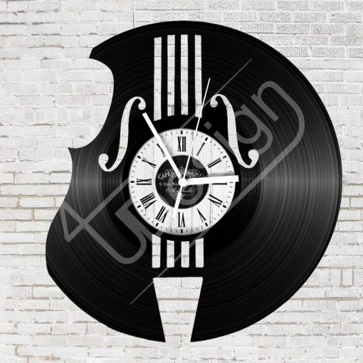Hangszer hanglemez óra - bakelit óra