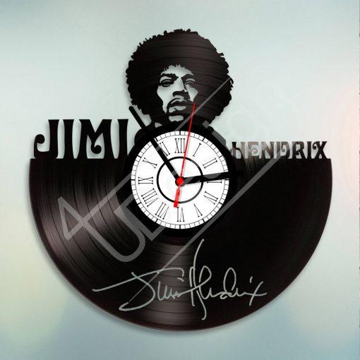 Jimi Hendrix hanglemez óra - bakelit óra