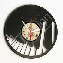 Zongora hanglemez óra