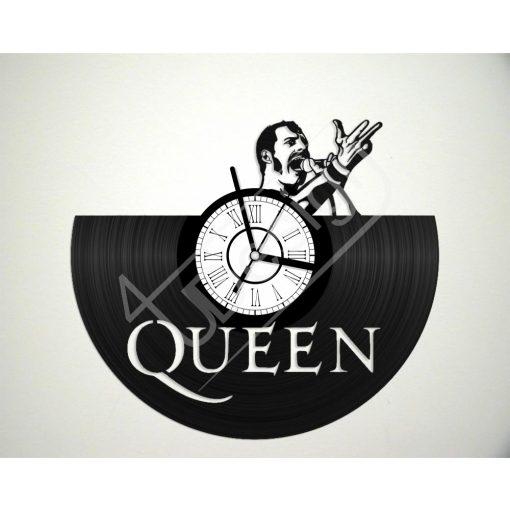Queen hanglemez óra - bakelit óra
