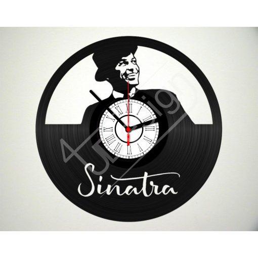 Frank Sinatra hanglemez óra - bakelit óra