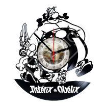 Asterix és Obelix hanglemez óra