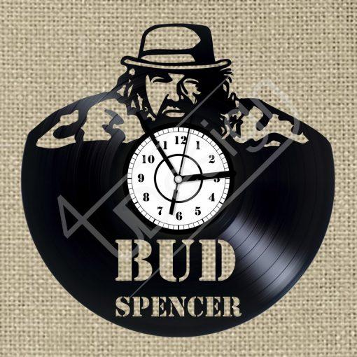 Bud Spencer hanglemez óra - bakelit óra