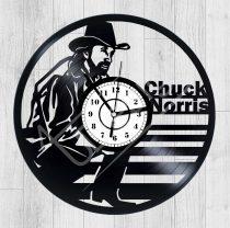 Chuck Norris hanglemez óra
