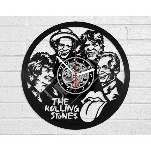 Rolling Stones hanglemez óra - bakelit óra