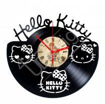 Hello Kitty hanglemez óra