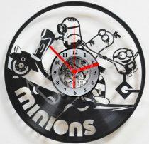 Minions hanglemez óra
