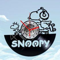 Snoopy hanglemez óra