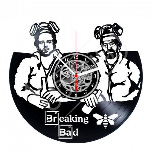 Totál szívás - Breaking Bad hanglemez óra - bakelit óra